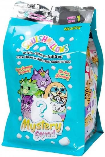 "Squishmallows Micromallows Mystery Squad Scented 5-Inch Micro Plush Pack [1 RANDOM 5"" Figure]"