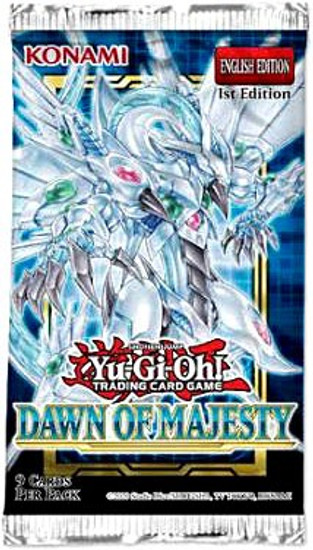 YuGiOh Trading Card Game Dawn of Majesty Booster Pack [9 Cards] (Pre-Order ships August)