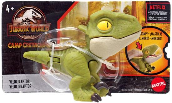 Jurassic World Snap Squad Velociraptor Mini Figure
