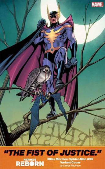 Marvel Miles Morales: Spider-Man #25 Comic Book [Heroes Reborn Variant]