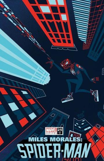 Marvel Miles Morales: Spider-Man #25 Comic Book [Veregge Variant]