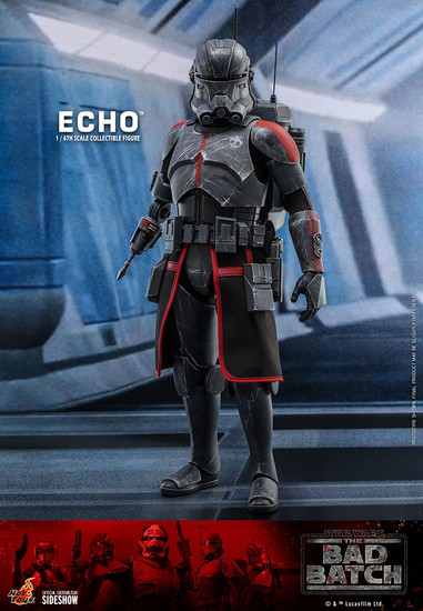 Star Wars The Bad Batch Echo Collectible Figure (Pre-Order ships June 2022)