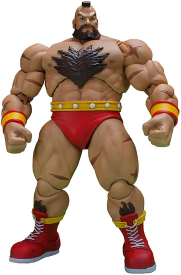 Ultra Street Fighter II: The Final Challengers Zangief Action Figure (Pre-Order ships August)