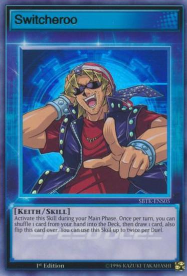 YuGiOh Speed Duel: Trials of the Kingdom Ultra Rare Switcheroo SBTK-ENS05