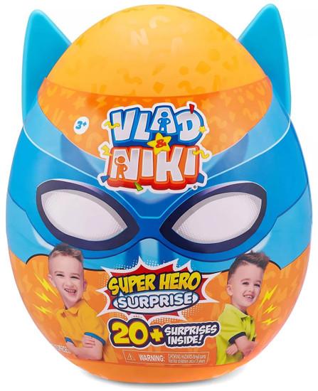 Vlad & Niki Robot Battle Superhero Surprise Egg [Blue]
