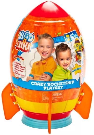 Vlad & Niki Crazy Rocketship Play Set