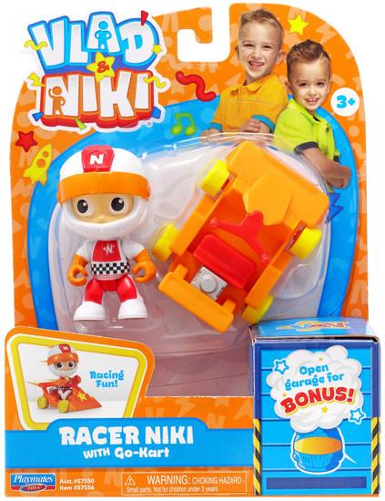 Vlad & Niki Racer Niki Figure Set [with Go-Kart]