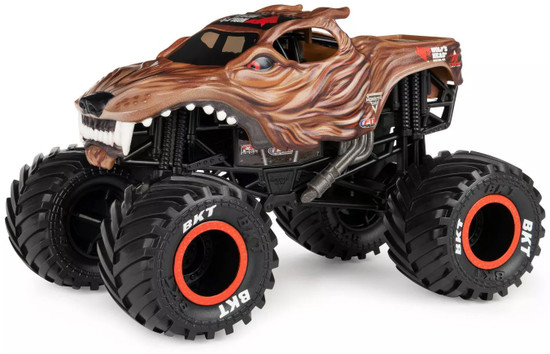 Monster Jam True Metal Wolf's Head Motor Oil Diecast Car