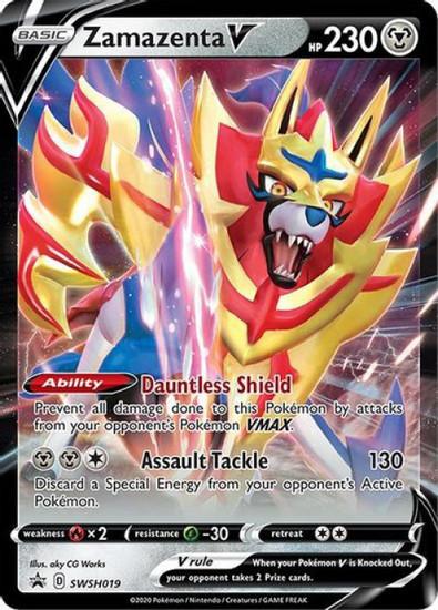 Pokemon Sword & Shield Promo Zamazenta V SWSH019