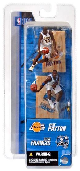 McFarlane Toys NBA Los Angeles Lakers / Orlando Magic Sports Picks 3 Inch Mini Series 2 Gary Payton & Steve Francis Mini Figure 2-Pack