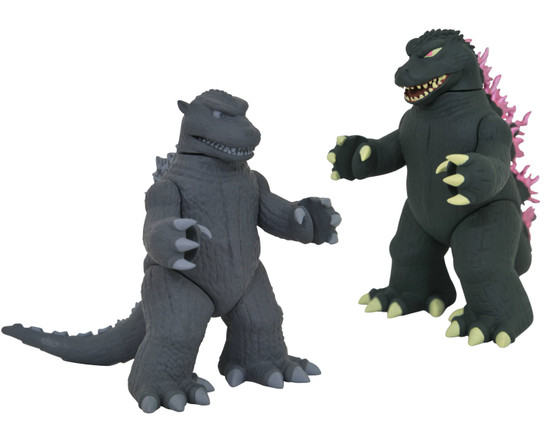 Vinimate Godzilla 1954 & Godzilla 1999 4-Inch Collectible Vinyl Figure 2-Pack (Pre-Order ships January)
