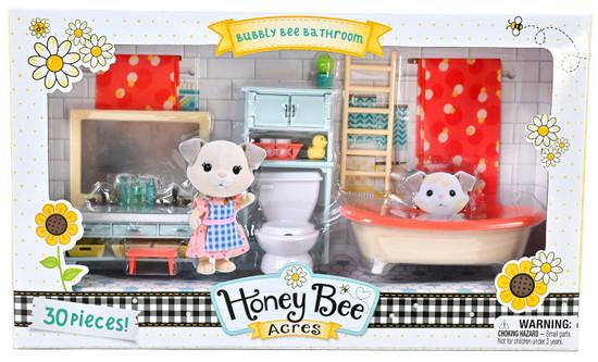Honey Bee Acres Bubbly Bee Bathroom Playset
