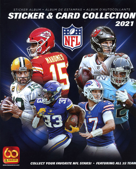NFL Panini 2021 Football Sticker Collection Album
