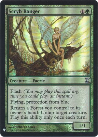 MtG Mystery Booster / The List Uncommon Foil Scryb Ranger #215