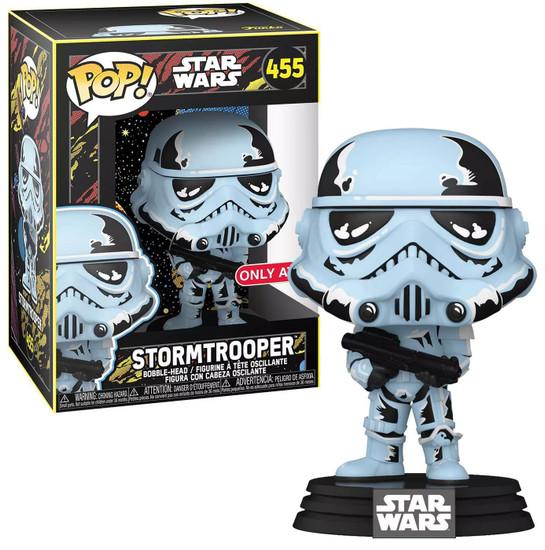 Funko Star Wars POP! Retro Series Stormtrooper Exclusive Vinyl Figure #455
