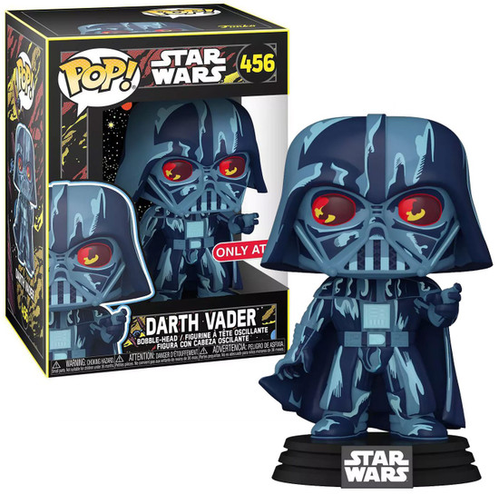 Funko Star Wars POP! Retro Series Darth Vader Exclusive Vinyl Figure #456