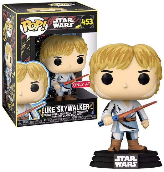 Funko Star Wars POP! Retro Series Luke Skywalker Exclusive Vinyl Figure #453