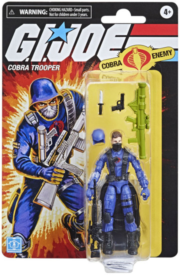 GI Joe Retro Collection Cobra Trooper Exclusive Action Figure