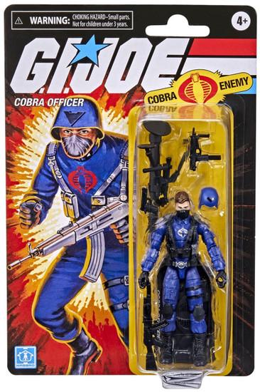GI Joe Retro Collection Cobra Officer Action Figure