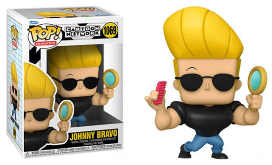 Funko Johnny Bravo POP! Animation Johnny Vinyl Figure #1069 [w/Mirror & Comb] (Pre-Order ships November)
