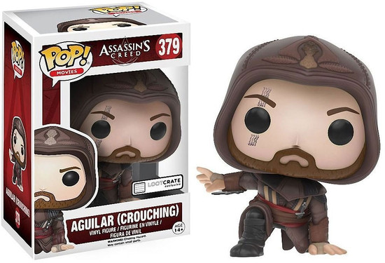 Funko Assassin's Creed POP! Movies Aguilar Exclusive Vinyl Figure #379 [Crouching]