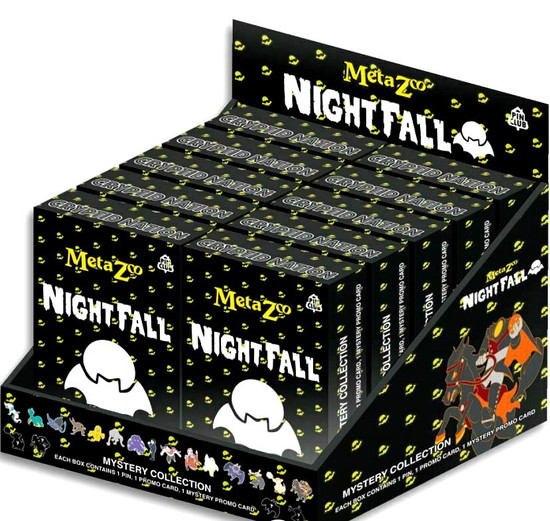 MetaZoo Trading Card Game Cryptid Nation Nightfall Mystery Collection Box [10 Packs] (Pre-Order ships October)