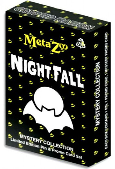 MetaZoo Trading Card Game Cryptid Nation Nightfall Mystery Collection Pack [Pin, Promo Card & Mystery Promo Card] (Pre-Order ships October)
