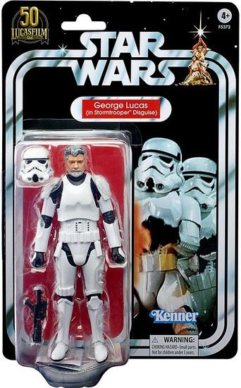 Star Wars Black Series Lucasfilm 50th Anniversary George Lucas (in Stormtrooper Disguise) Action Figure (Pre-Order ships June)