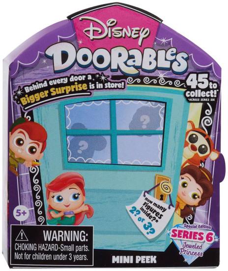 Disney Doorables Series 6 MINI Peek Mystery Pack [2 or 3 Figures]