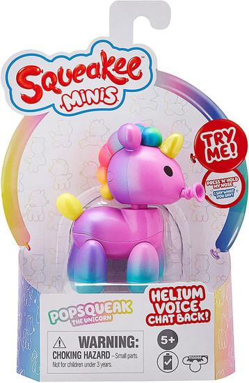 Squeakee Minis Series 1 Popsqueak the Unicorn Mini Figure