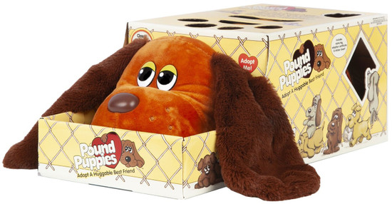 Pound Puppies Brown Puppy with Extra Long & Fuzzy Ears Exclusive Plush