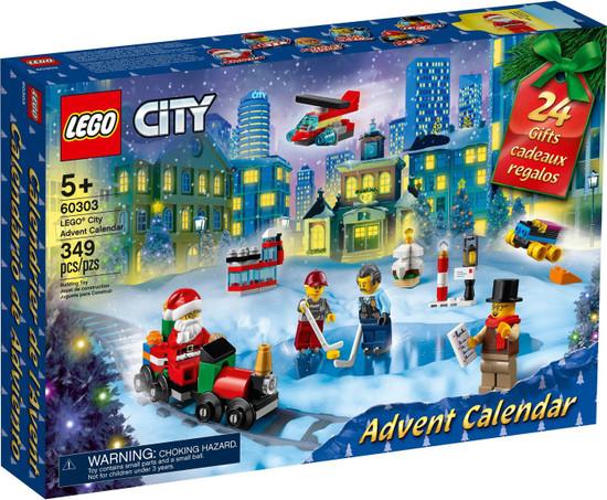 LEGO City 2021 Advent Calendar Set #60303