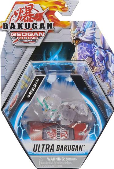 Geogan Rising Ultra Bakugan Diamond Fenneca Ultra Single Figure & Trading Card