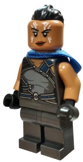 LEGO Marvel Super Heroes Valkyrie Minifigure [Dark Gray Suit Loose]