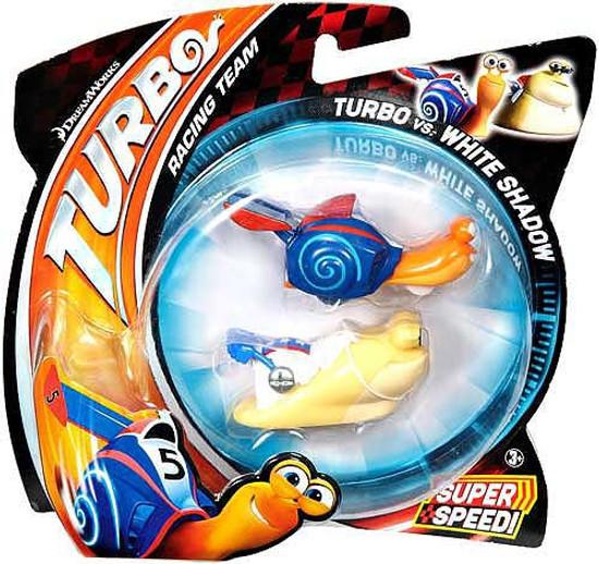 Turbo vs White Shadow Vehicle 2-Pack