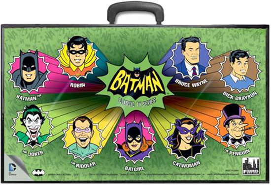 Batman Classic TV Series TV Series Cartoon Heads Action Figure Case
