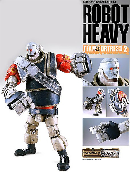 Team Fortress 2 Mann vs. Machine Red Heavy Collectible Figure