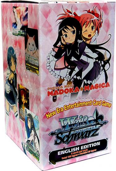 Weiss Schwarz Trading Card Game Puella Magi Madoka Magica Booster Box [20 Packs]