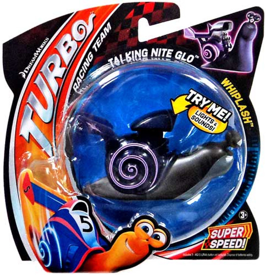 Turbo Talking Nite Glo Whiplash Figure
