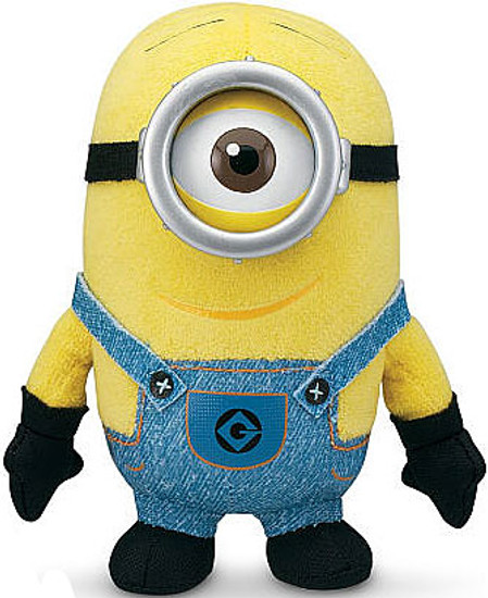 Despicable Me 2 Minion Stuart 5-Inch Bean Bag Plush [One Eye]