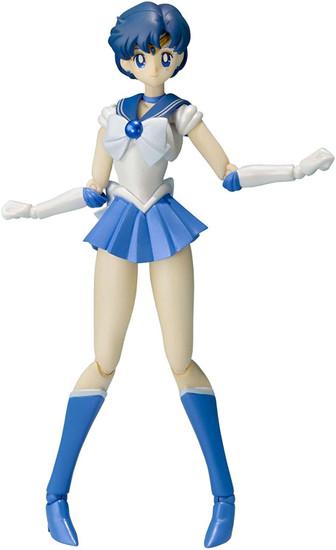 Sailor Moon S.H. Figuarts Pretty Guardian Sailor Mercury Action Figure