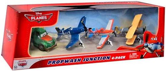 Disney Planes Propwash Junction Exclusive Diecast Vehicle 4-Pack