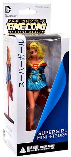 DC Ame-Comi Heroine Mini Figures Series 3 Supergirl PVC Mini Figure [Re-Release]