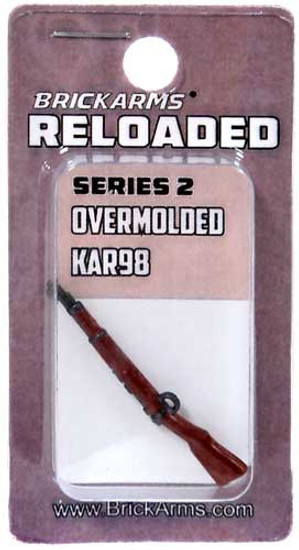 BrickArms Reloaded Series 2 Weapons Kar98 2.5-Inch [Overmolded] [New Sealed]