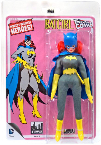 Batman World's Greatest Heroes Series 3 Batgirl Action Figure