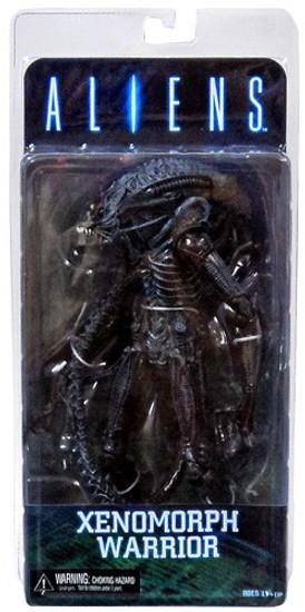 NECA Aliens Series 2 Xenomorph Warrior Action Figure [Blue]