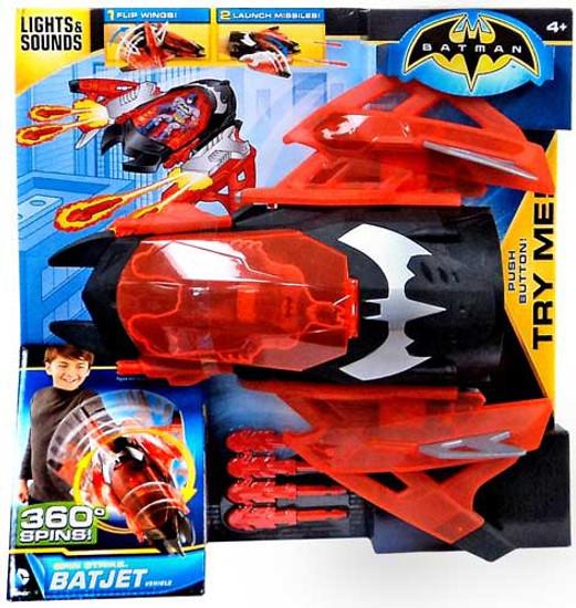 Batman Spin Strike Batjet Vehicle