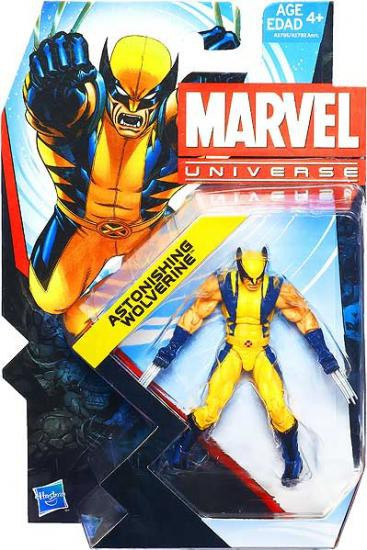 Marvel Universe Series 22 Astonishing Wolverine Action Figure #9