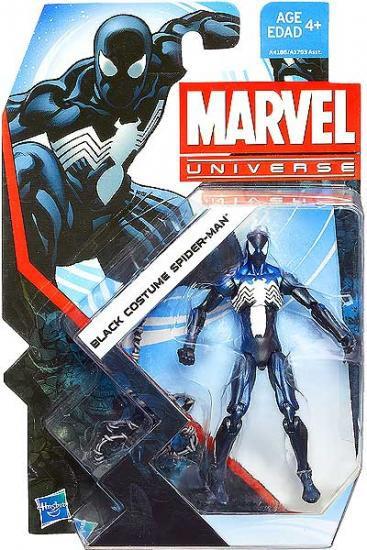 Marvel Universe Series 22 Black Costume Spider-Man Action Figure #7