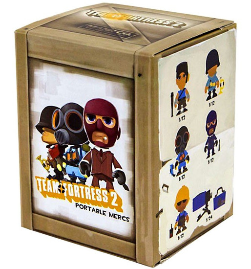 Portable Mercs Team Fortress 2 Mystery Pack
